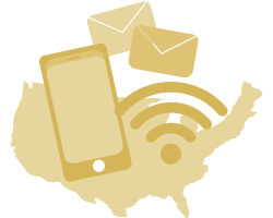 High-Speed Internet Access, Calls, and SMS in the US